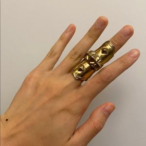 Low Luv x Erin Wasson Gold Armor Ring